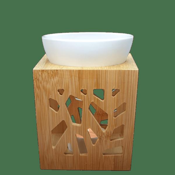 Brûleur Bambou Design Blanc 1